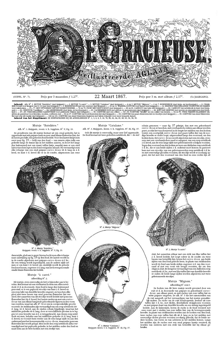 De Gracieuse 22 March 1867