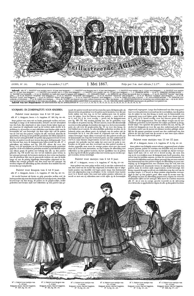 De Gracieuse 1 May 1867