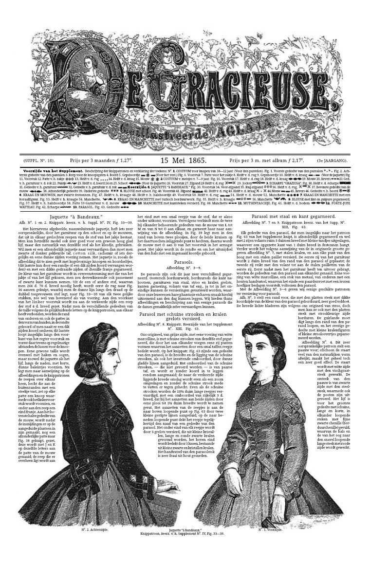 De Gracieuse 15 May 1865