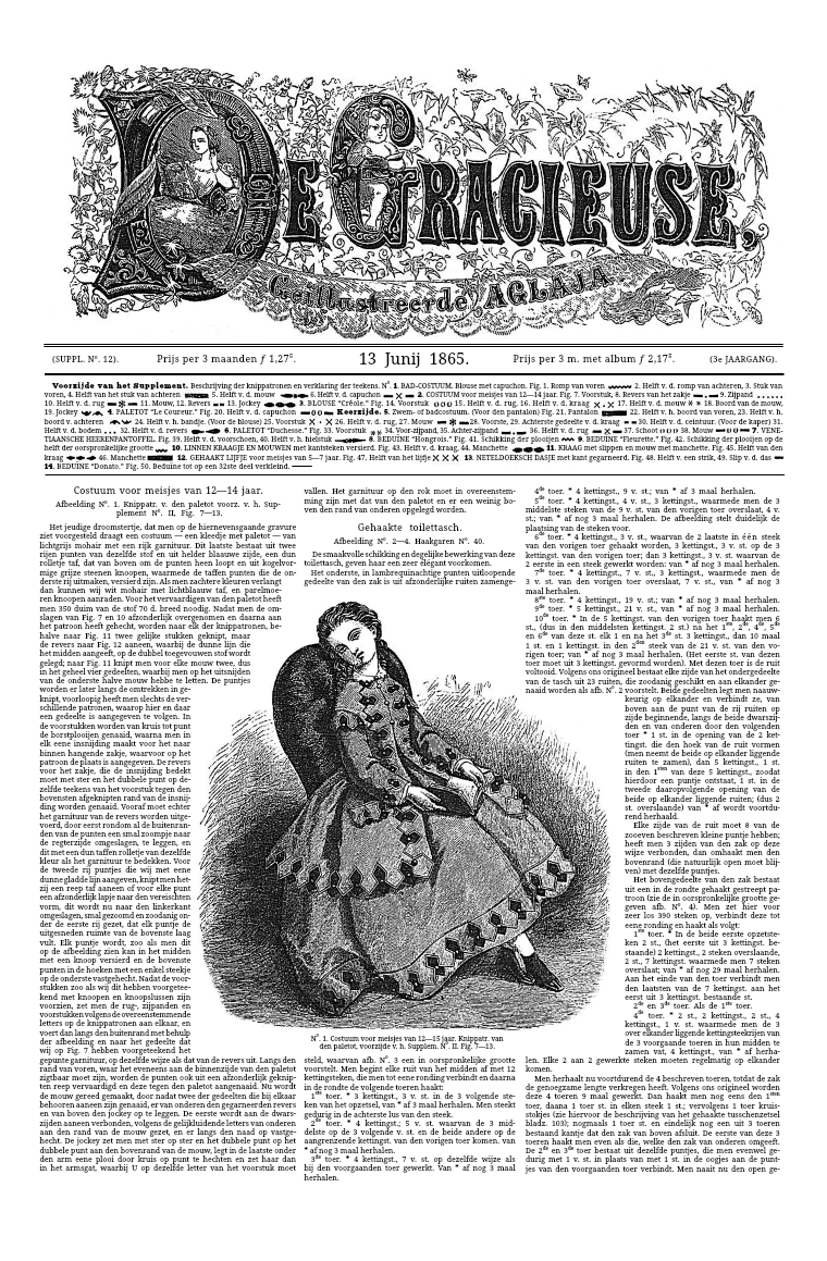 De Gracieuse 13 June 1865