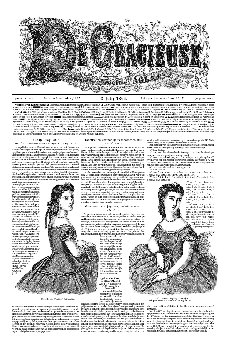 De Gracieuse 3 July 1865