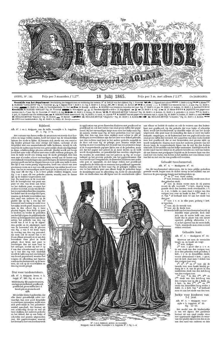 De Gracieuse 18 July 1865