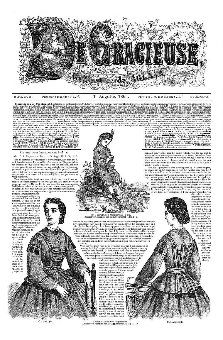De Gracieuse 1 August 1865