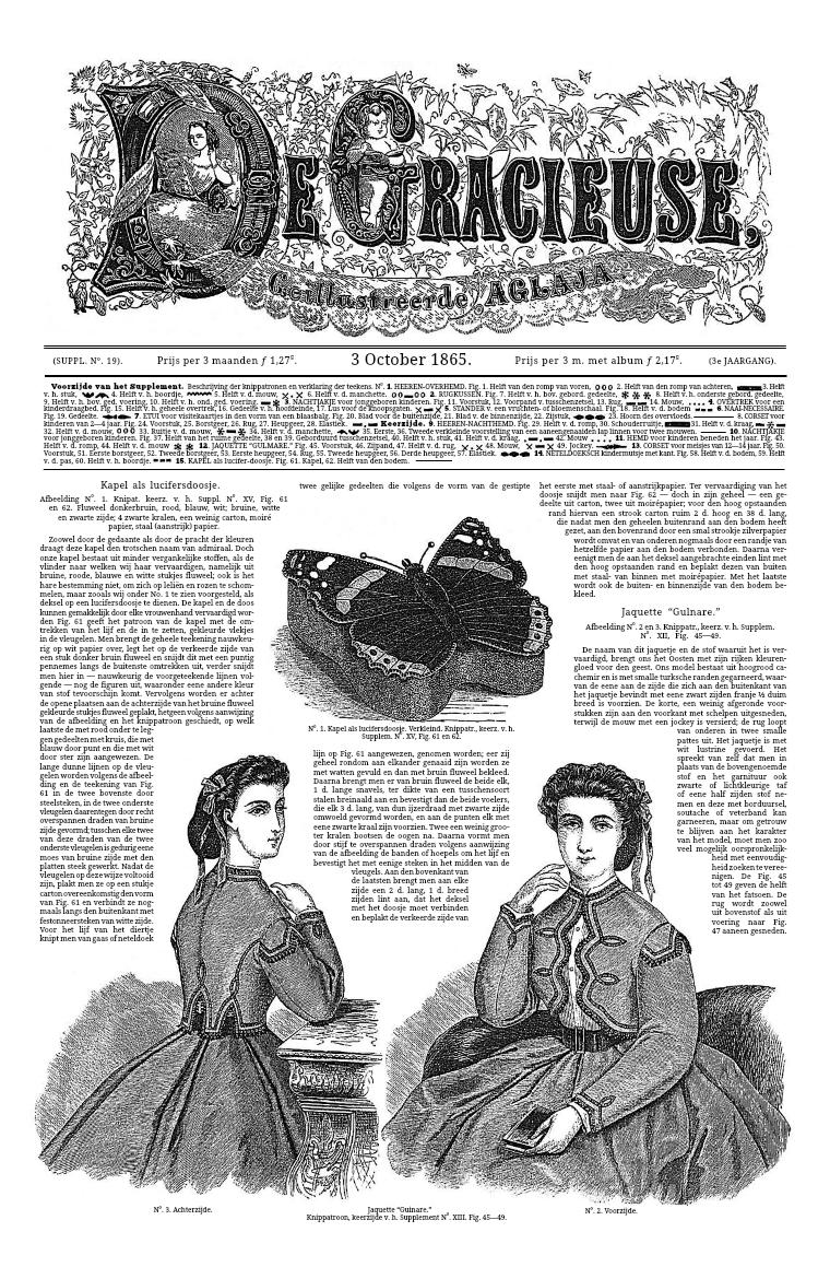 De Gracieuse 3 October 1865