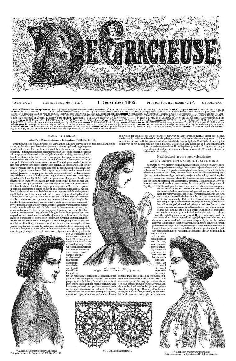 De Gracieuse 1 December 1865