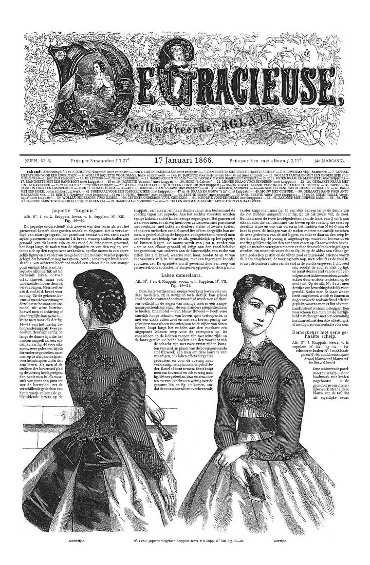 De Gracieuse 17 January 1866
