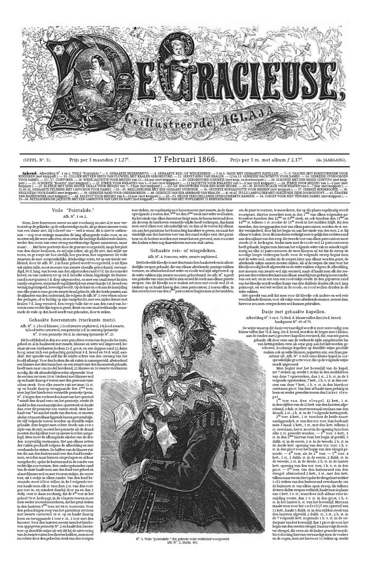 De Gracieuse 17 February 1866