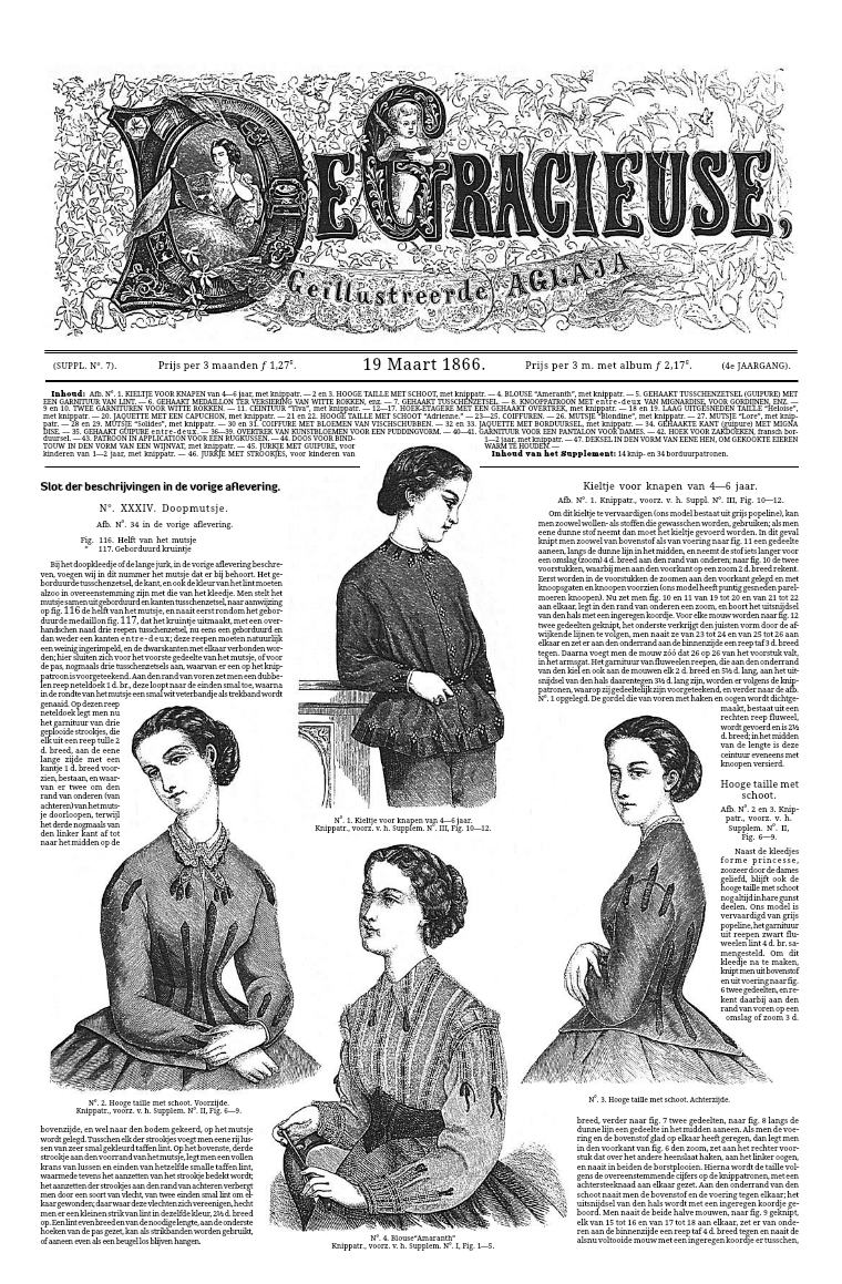 De Gracieuse 19 March 1866