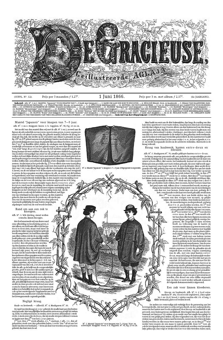 De Gracieuse 1 June 1866