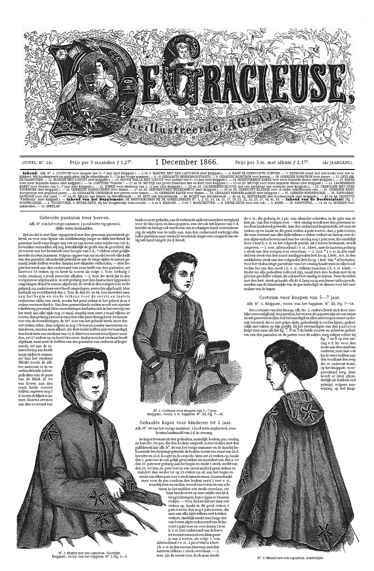 De Gracieuse 1 December 1866