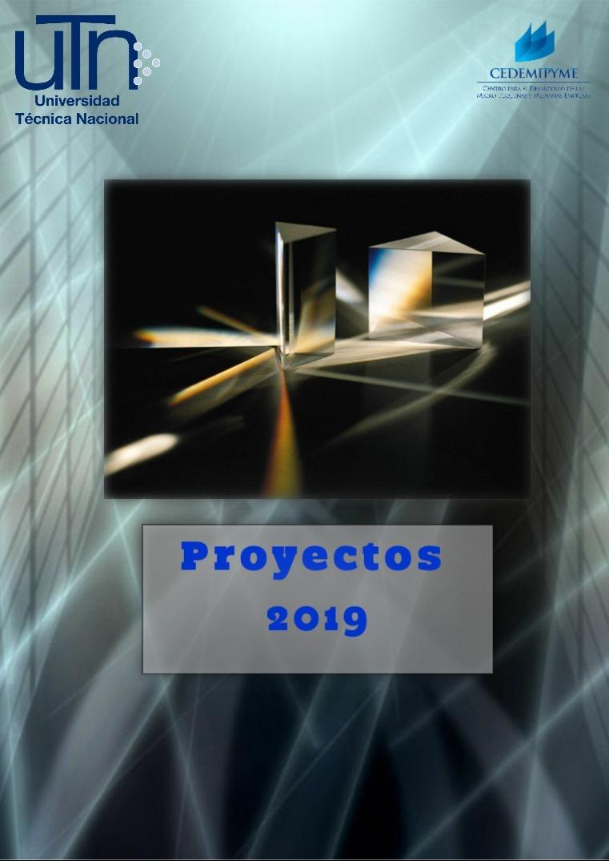 Proyectos 2019 REVISTA DE PROYECTOS 2019