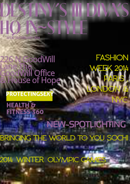 DESTINY'S III DIVA'S HQ IN~STYLE ISSUE 5