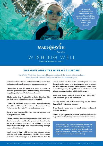 Wishing Well Winter Edition 2014