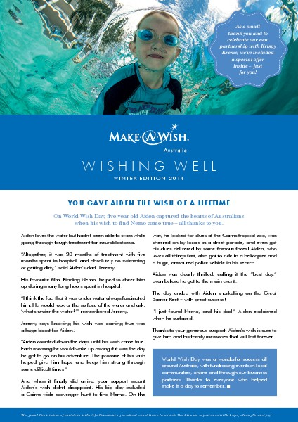 Wishing Well 2014 Wishing Well Winter Edition 2014