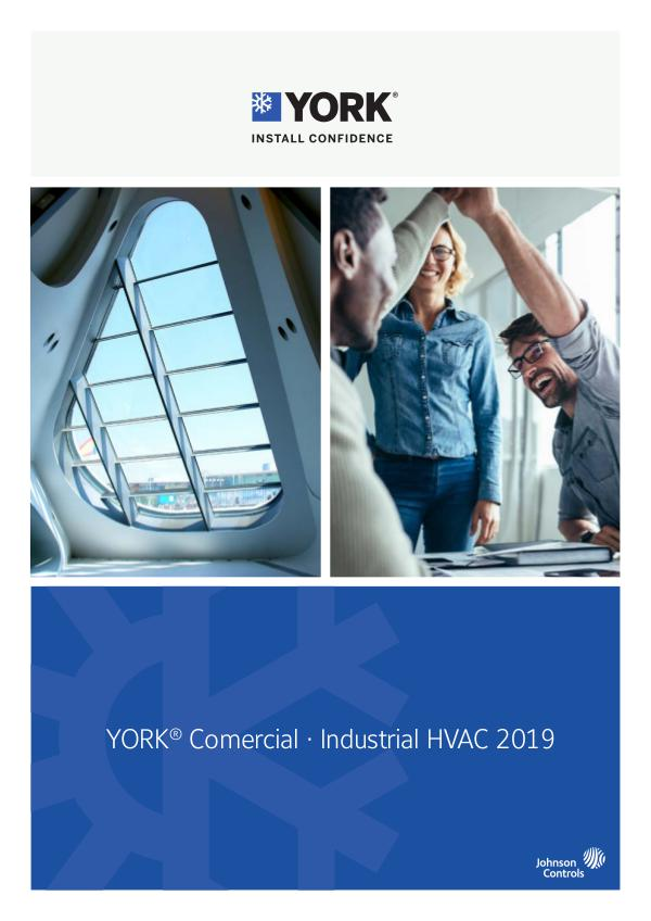 York HVAC Catalogue 2018 EN 2019 ES