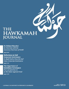 The Hawkamah Journal issue 02/2013