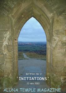 ALUNA TEMPLE MAGAZINE Edition No3 'INITIATIONS'