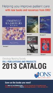 ONS Publications Catalog Dec. 2013