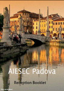 AIESEC PADOVA BOOKLET October 2013