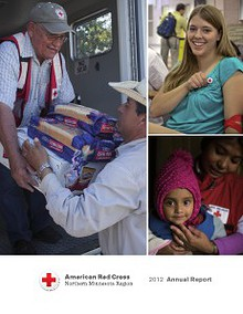 American Red Cross Northern Minnesota Region - Annual Report FY12