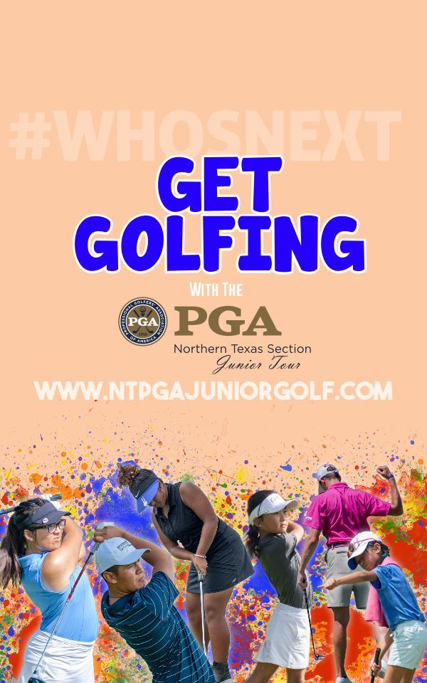 Get Golfing! 2019 Junior Tour Membership Pamphlet 2019 Junior Tour Brochure