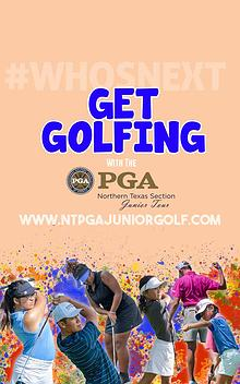 Get Golfing! 2019 Junior Tour Membership Pamphlet
