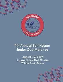 Ben Hogan Junior Cup Matches