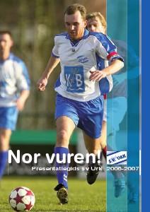 Presentatiegidsen s.v.Urk (Seizoen 2006-2007)