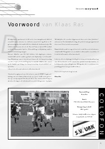Seizoenboeken s.v.Urk (Seizoen 2007-2008)