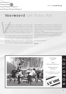 Seizoenboeken s.v.Urk (Seizoen 2008-2009)