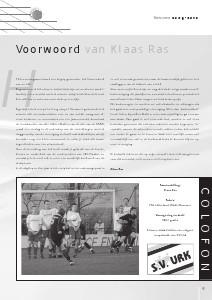 Seizoenboeken s.v.Urk (Seizoen 2009-2010)