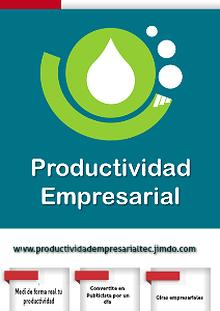 Productividad Empresarial TEC... ¡Integrando Creatividad e Innovación!