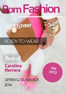 Rom Fashion SEP 2013