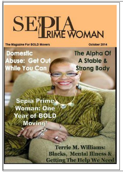 Sepia Prime Woman Digital Magazine October 2014