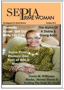 Sepia Prime Woman Digital Magazine