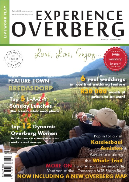 Experience Overberg Issue 3 Issue 3 - July 2014