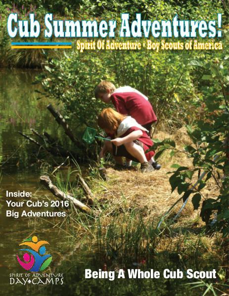 Cub Scout Adventures Volume 1