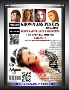 Grown Ass Pinups Magazine:The Official Edition Fall 2013