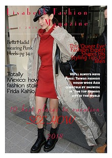Lisabeth  Fashion Magazine