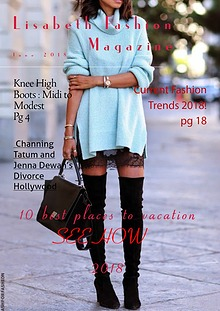 Lisabeth  Fashion Magazine