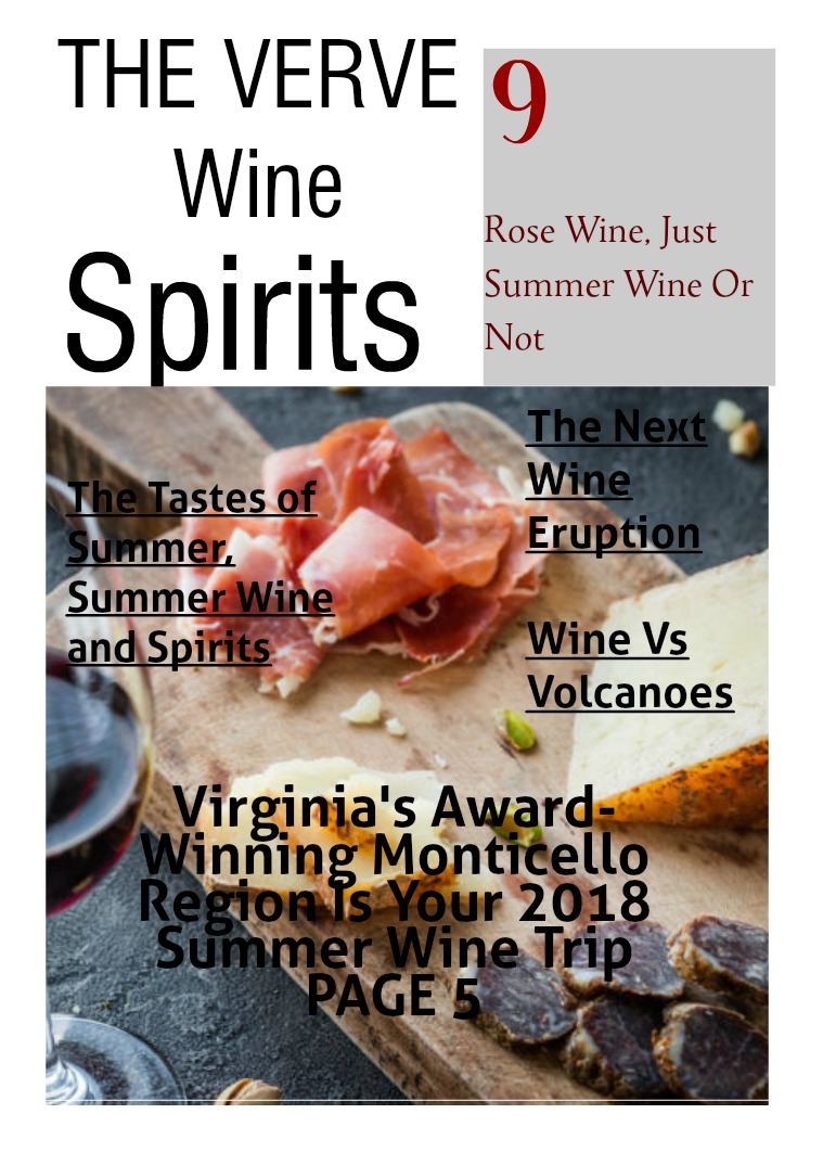 The Verve Wine & Spirits SUMMER IS HERE !
