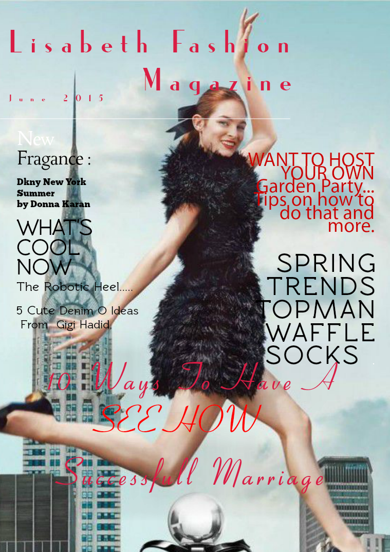 Lisabeth Fashion Magazine July 2015 Issue Joomag Newsstand