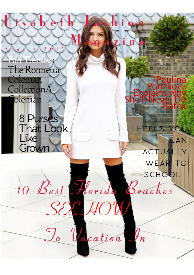 Lisabeth  Fashion Magazine September 2015 Issue