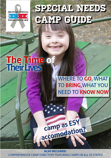 MSNN Special Needs Camp Guide