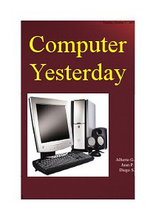 Computer Yesterday