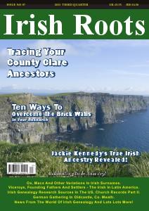 Irish Roots Magazine - Autumn Issue No 87 Sept, 2013