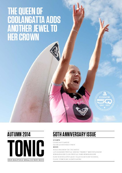 TONIC Autumn 2014 Issue - 50th Anniversary Autumn 2014