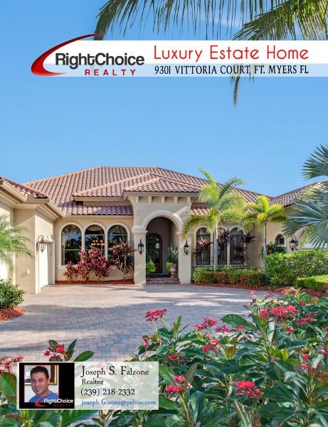 Real Estate - Print Brochures 9301 Vittoria Ct