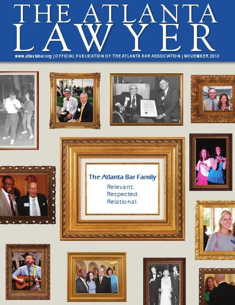 The Atlanta Lawyer - Official Publication of the Atlanta Bar Association Nov