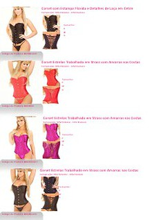 Catálogo Play Sexy Corset, Espartilho e Body 2013-2014